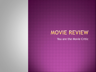 Movie Review PPT
