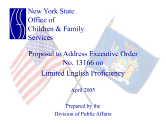 Limited English Proficiency - New York State Office of Children and