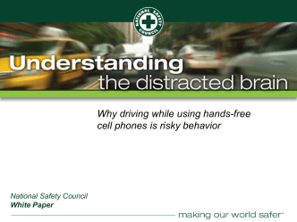 Distracted Driving (Presentation)