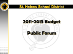 to view – click here - St Helens School District