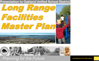 Facilities Master Plan - Oakland Unified School District