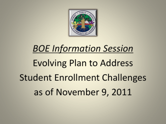 Redistricting Powerpoint-Nov 2011