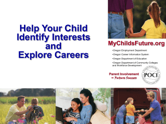 Help Your Child Identify Interests, Explore