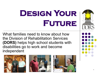 Design Your Future - Division of Rehabilitation Services