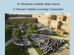 2011 mini COMPREHENSIVE - St. Elizabeth Catholic High School