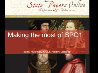 State Papers Online