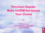 Thru-train Degree