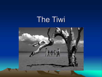 The Tiwi