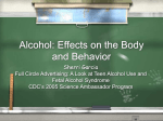 Alcohol: Effects on Teen Behavior and Body