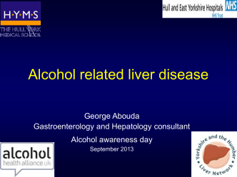 Alcohol liver disease - Hull and East Yorkshire Hospitals NHS Trust