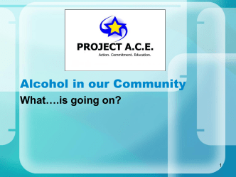 Youth and Alcohol - Community Action Partnership