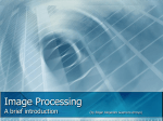 Image Processing (Chapter 12)