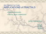 APPLICATION of FRACTAL