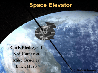 Space Elevator - Northwestern University