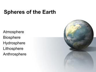 Spheres of the Earth (PPT)