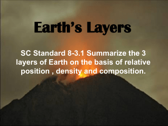 3 layers of Earth