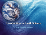 Earth Science Introduction - The Naked Science Society