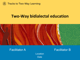 Two-Way bidialectal education