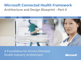 Microsoft Connected Health Framework