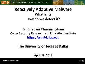 Lecture2 - The University of Texas at Dallas
