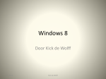 Windows 8 - HCC Haaglanden