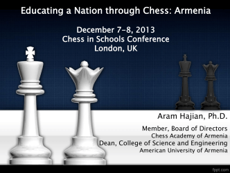 Armenia - London Chess Classic