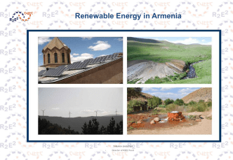 Renewable Energy in Armenia