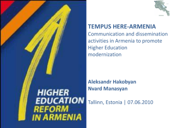 TEMPUS HERE-ARMENIA presentation