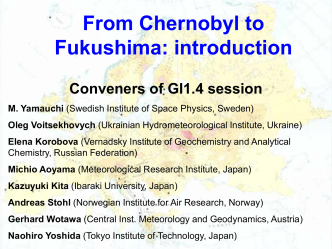From Chernobyl to Fukushima: introduction