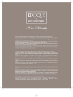 Epoque Home Philosophy 2013