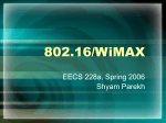 802.16/WiMAX