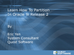 partition - Quest Software