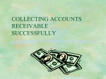 COLLECTING ACCOUNTS RECEIVABLE
