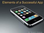 Elements of a successful App