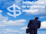 The Marketing Mix - PowerPoint Presentation