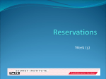 Reservation (amended)