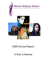 2009 Annual Report - Women Helping Women