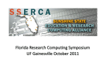 Florida Research Computing Symposium