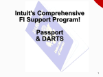 DARTS - Intuit Financial Institutions