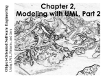 Modeling with UML: Basic Notations II