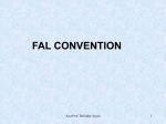 FAL convention