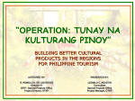 Operation Tunay na Kulturang Pinoy (Intro)