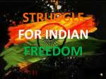 STRUGGLE OF INDIAN FREEDOM - DEP