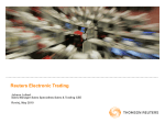 Reuters Electronic Trading
