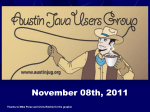 AustinJUG_11-08-2011 - Austin Java Users Group