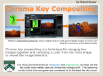 Chroma Key Compositing