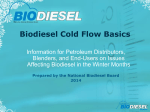 on cold weather use - National Biodiesel Board