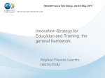 Innovation Strategy for Education and Training: the general framework