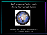 Performance Dashboards-NIQCA - Northeast Institute for Quality