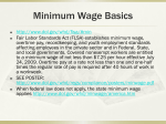 Minimum Wages Basics